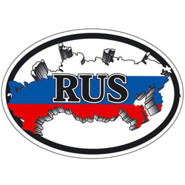 Rus-карта овал (разм. 10х14) упак. 10шт