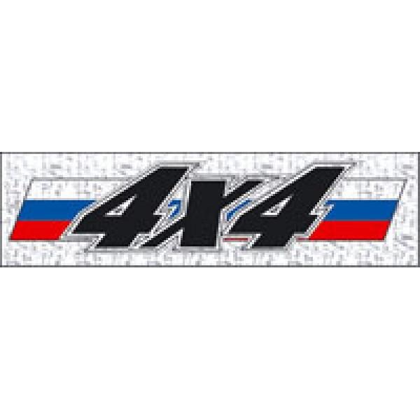 4х4 Рус флаг (7х26) голография , упак. 10 шт