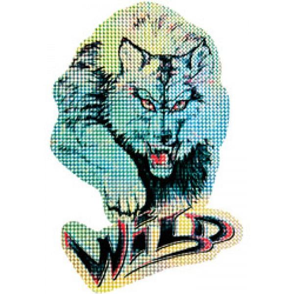 Волк (Wild) голография разм. 50х35