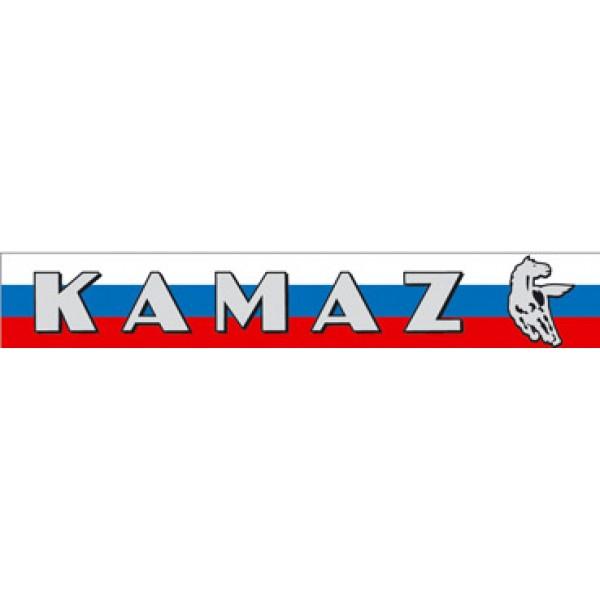 """""""КАМАЗ (флаг)"""" (31х102 см 2 шт.) серебро"""