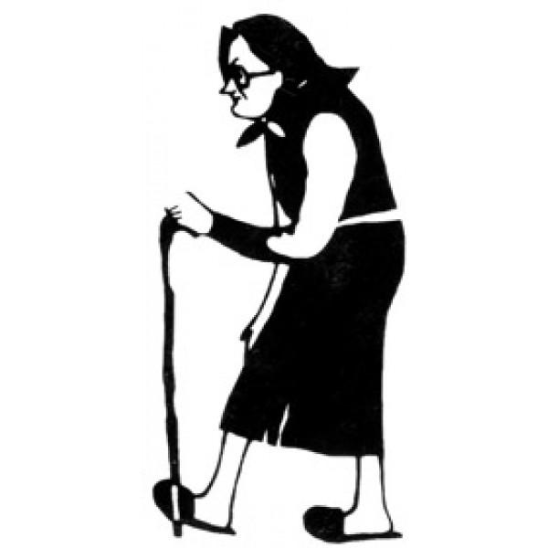 Бабка с тростью (7х3.5) комплект 3 шт