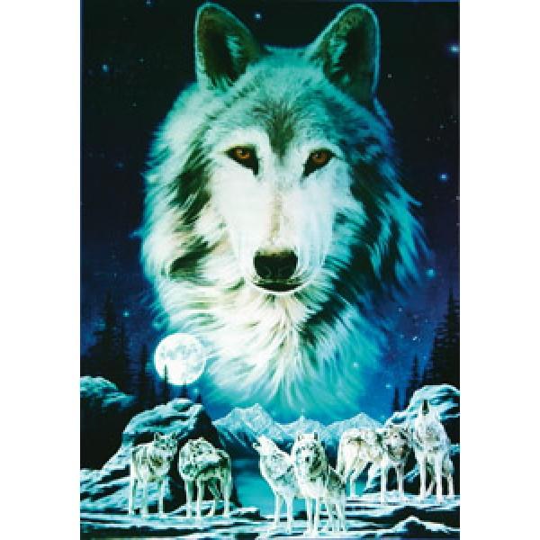 Волк(стая) 50х35