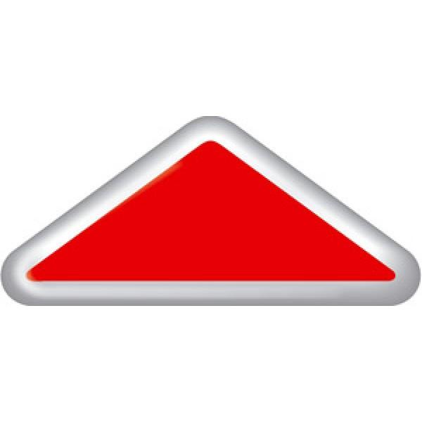 """""""Апликация на КАМАЗ (треугольник)"""" 2шт (5,5х20 см)"""