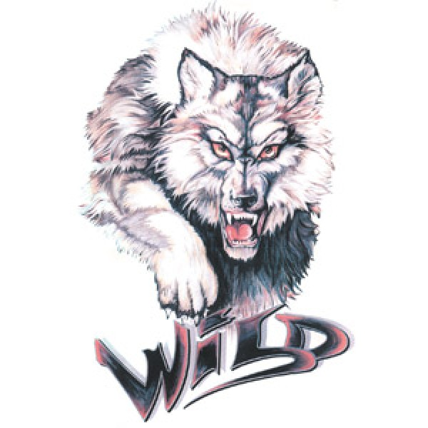 Волк (Wild) разм. 16х11(упак. 10 шт)