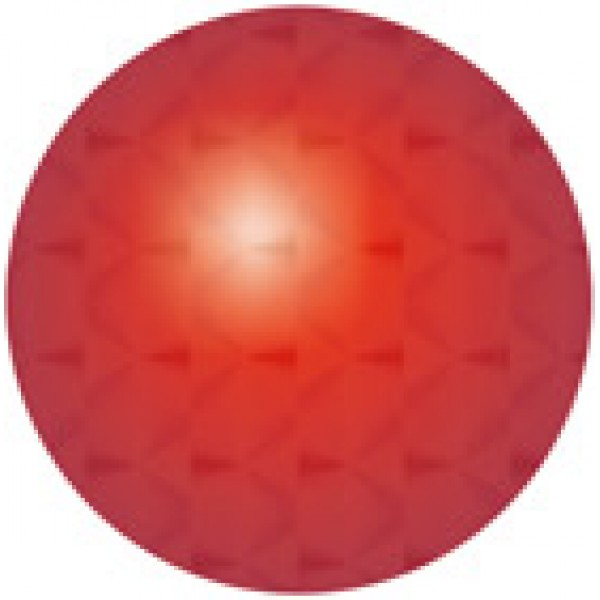 Кружок Ø 1.6 , 15 шт , голография , силикон (красный)