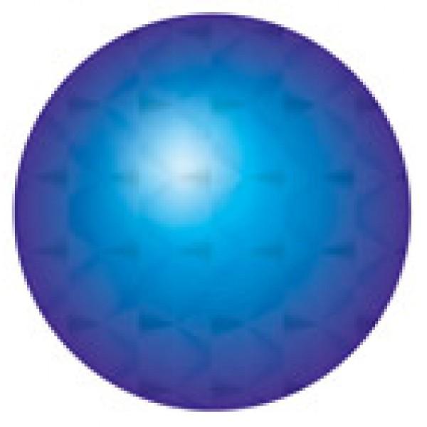 Кружок Ø 1.6 , 15 шт , голография , силикон (синий)