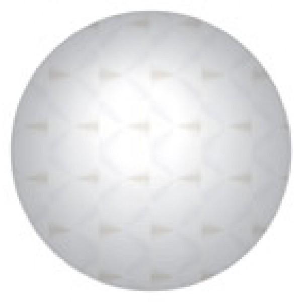 Кружок , 24 шт , Ø 1.2 см , голография , силикон (серебро)