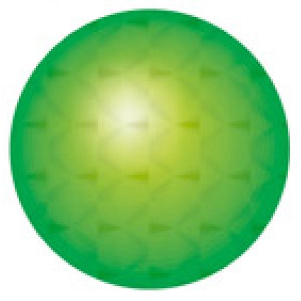 Кружок Ø 1.6 см , 15 шт , голография , силикон (зеленый)
