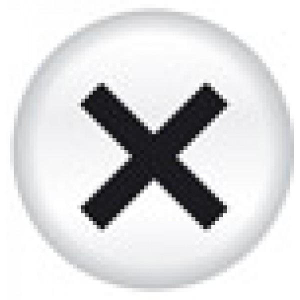 Кружок шуруп , 15 шт , Ø 1.6 см , силикон
