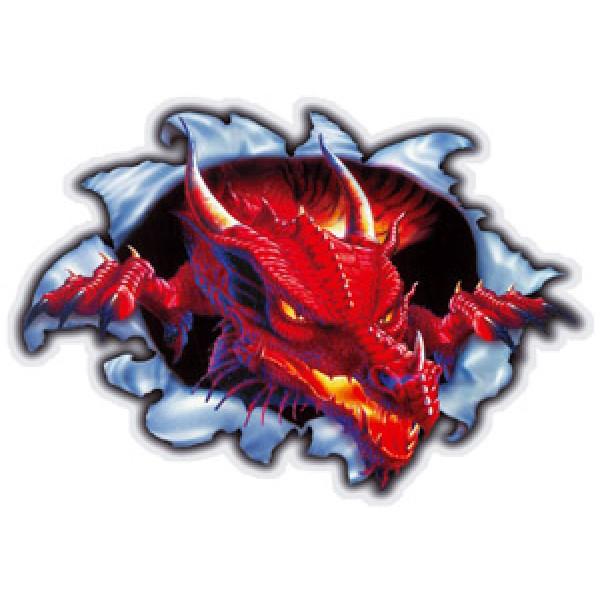 Дракон(разрез) разм. 50х35