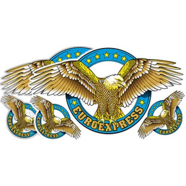 Орел (Euroexpress) синий (50х70)