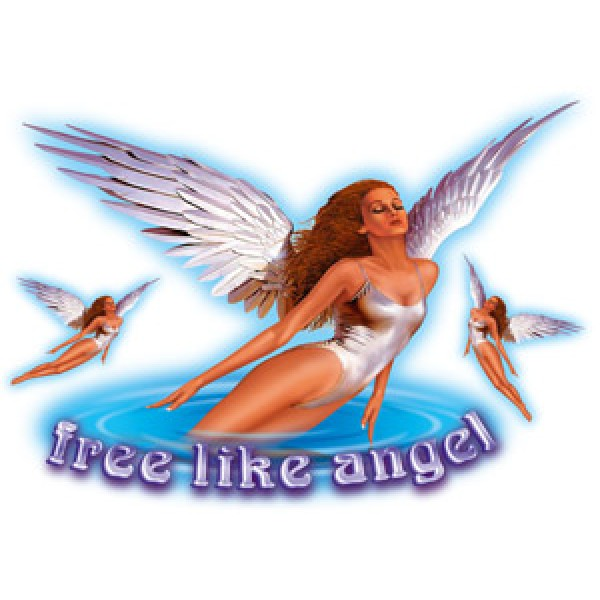 Девушка-ангел (разм. 50х70)