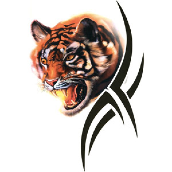 Тигр-tatoo (разм. 17.5х12) упак. 10 шт