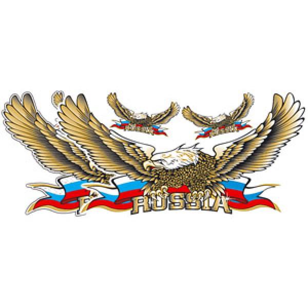 Орел № 18 , золото (33х70)
