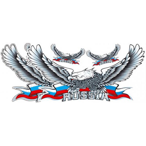 Орел № 18 , серебро (33х70)