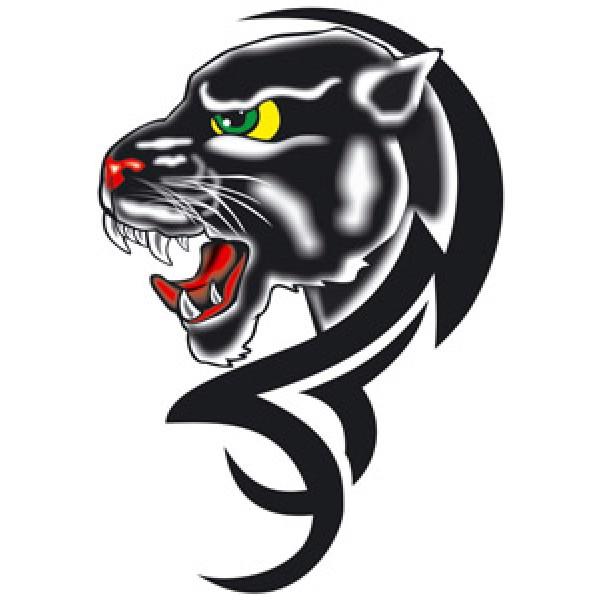 Пантера-tatoo (разм. 17.5х12) упак. 10 шт
