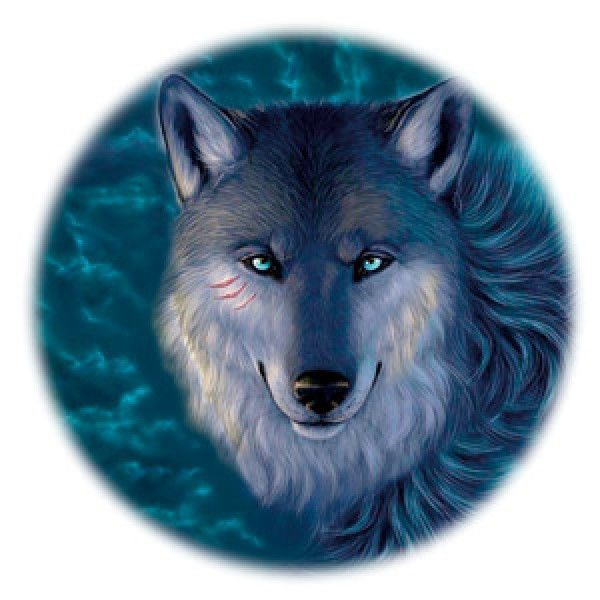 Волк № 1 Ø56 см (на запаску)