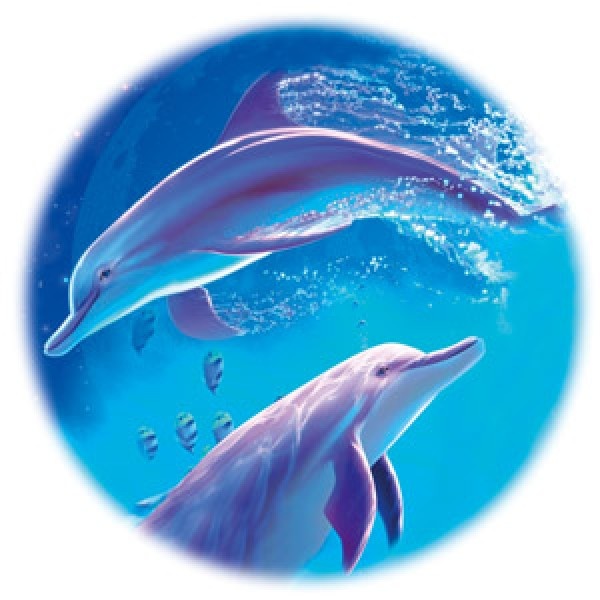 Дельфины №1 Ø56 см (на запаску)