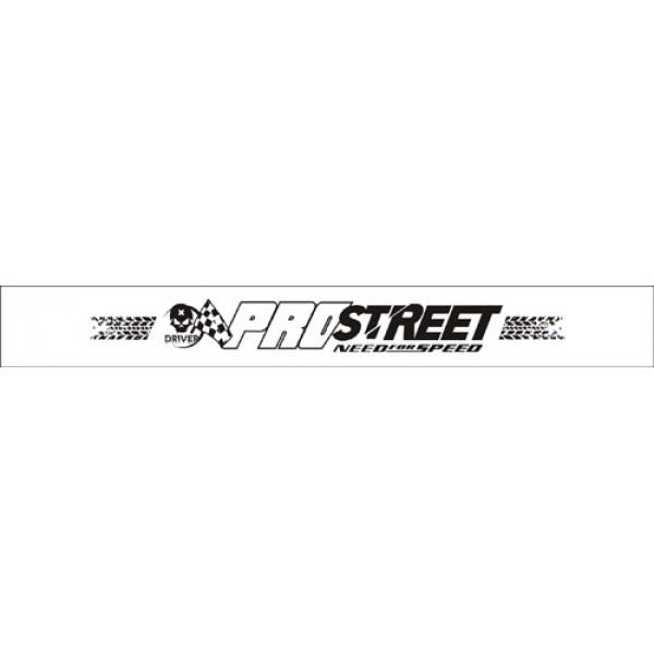Pro street:белый фон(16.5х130)