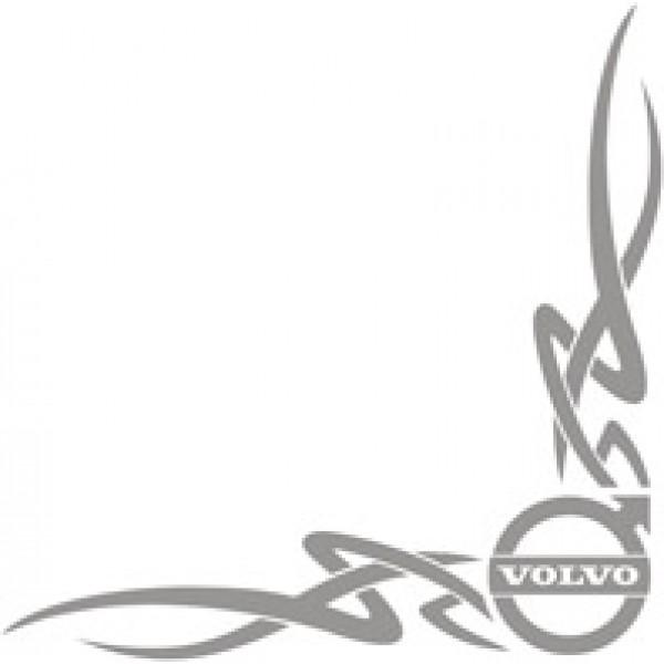 Volvo , серебро (45х45) комплект