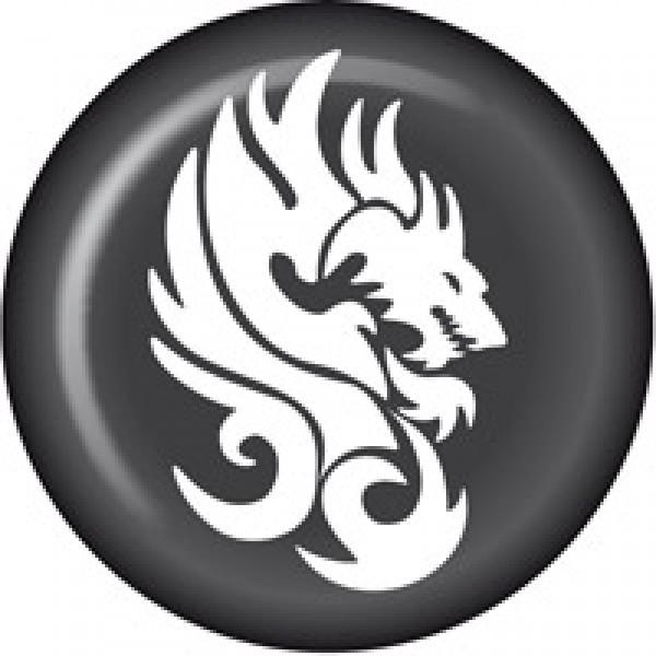 Голова дракона ⌀ 6см (комплект на диски)