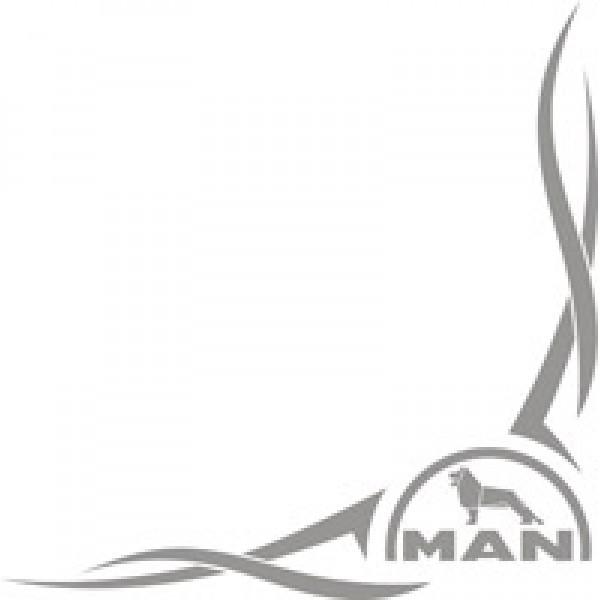 Man , серебро (40х46) комплект