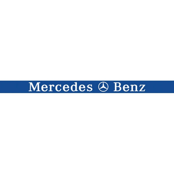 Mercedes , синий фон (16x220)