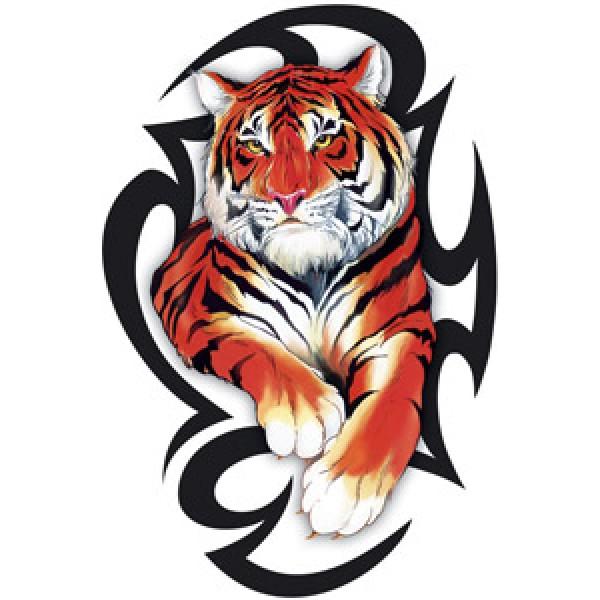 Тигр-tatoo № 2 (разм. 12х17)упак. 10шт