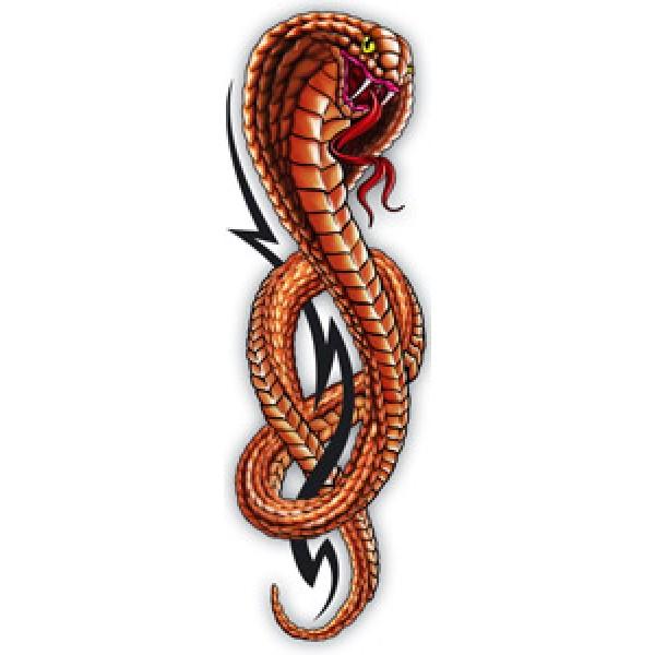 Змея-tatoo(разм. 5х16)упак. 10 шт