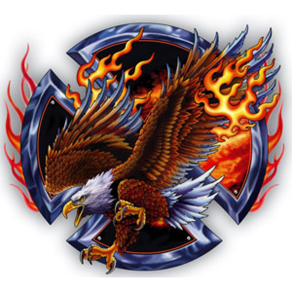 Орел (огненный) (13х15) упак. 10 шт