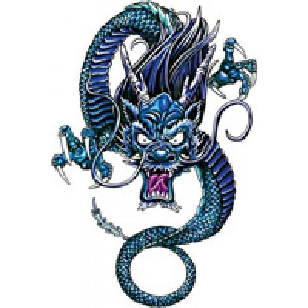 Дракон китайский (разм. 13х17.5)упак 10шт
