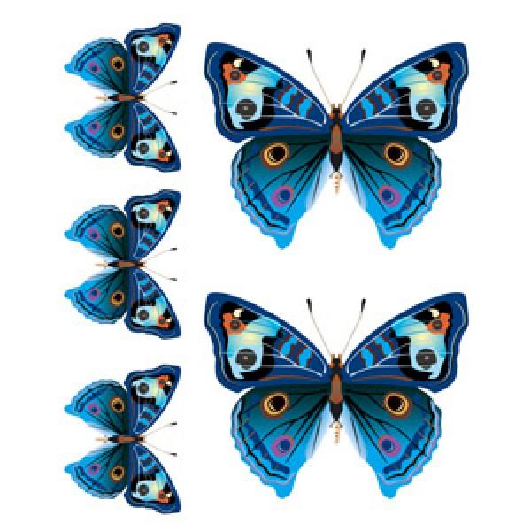 Бабочки Ниагара(разм. 24х27)