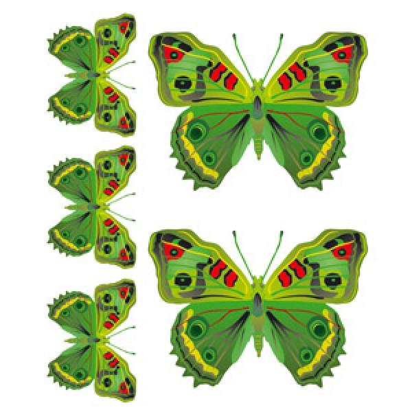Бабочки Нефрит(разм. 24х27)