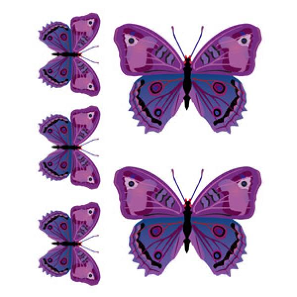 Бабочки Индиго(разм. 24х27)