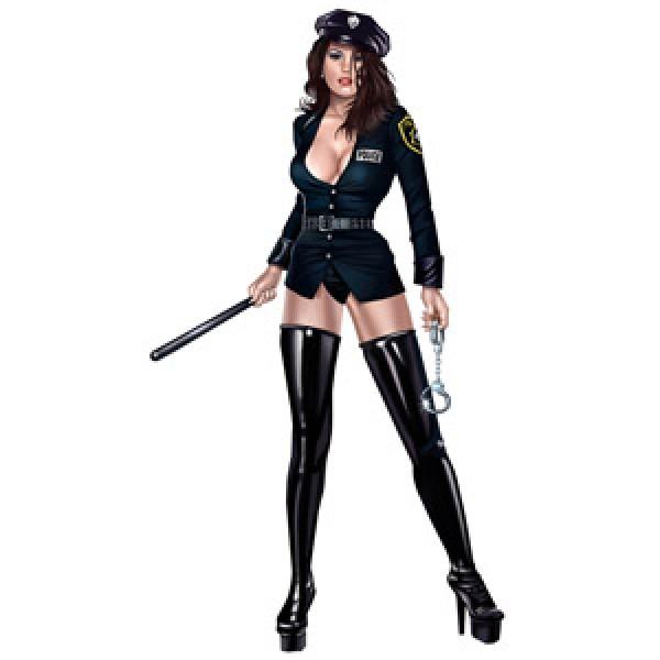 Девушка Police (7.5х22) упак. 10 шт