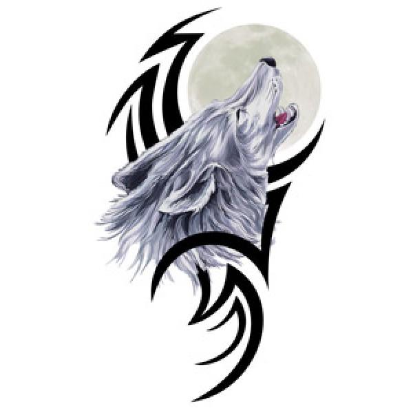 Волк № 3 (разм 11х20,5) упак. 10 шт