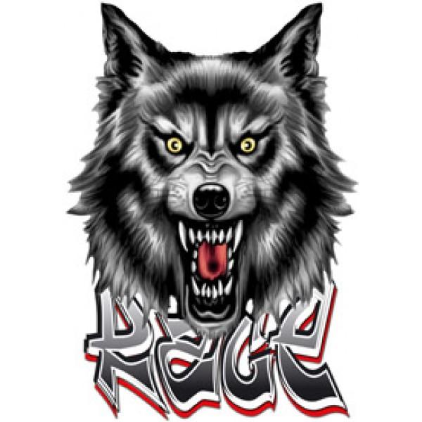 Волк(Ярость) 50х35
