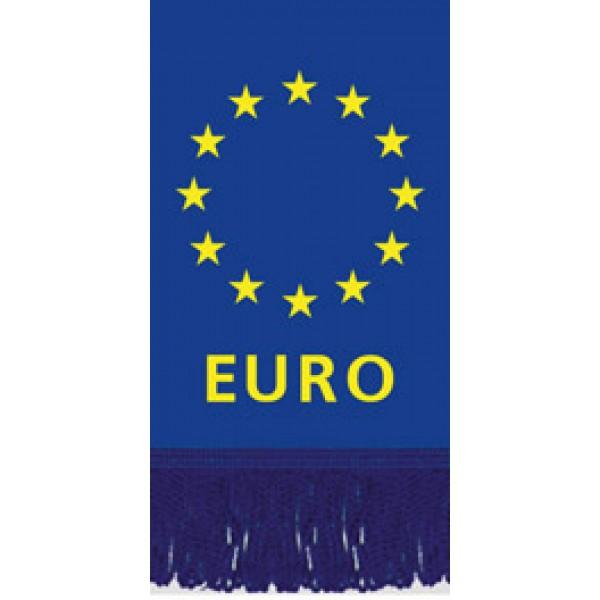 Вымпел EURO , бахрома (8х12)