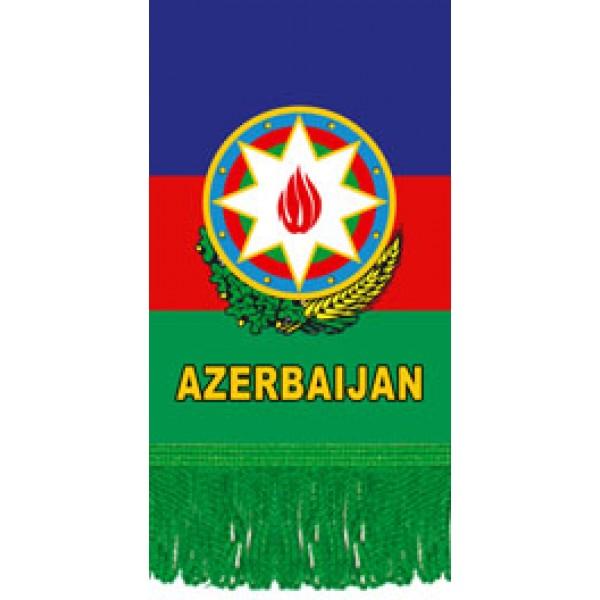 Вымпел Azerbaijan , бахрома (8х12)