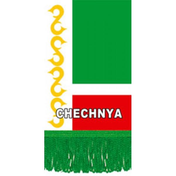 Вымпел Chechya , бахрома (8х12)
