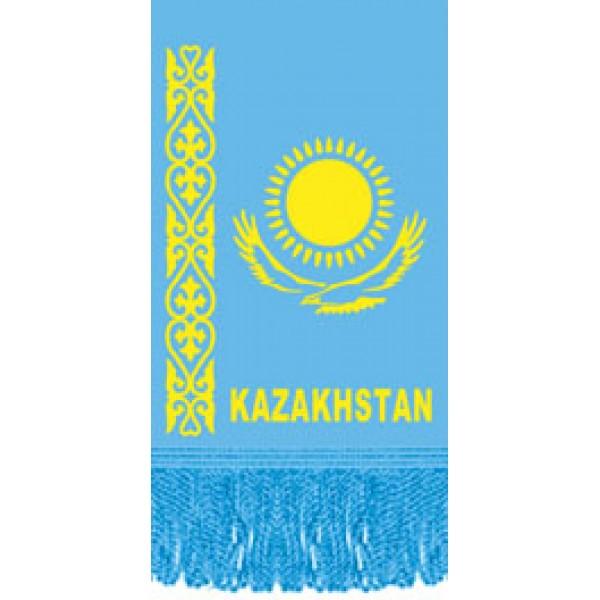 Вымпел Kazakhstan , бахрома (8х12)