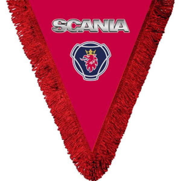 Вымпел Scania(красный)