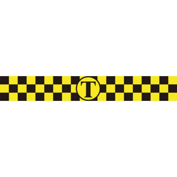 Магнит (7.5х50) комплект , желтый
