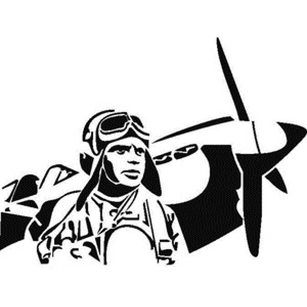 Летчик (38х24) белый