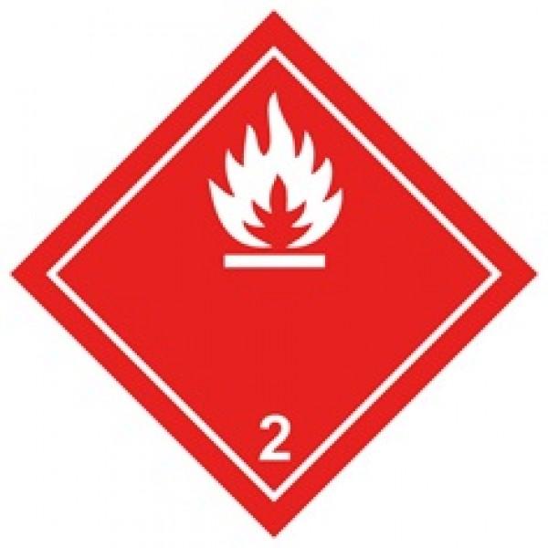 Легко воспламенящиеся газы (25х25)