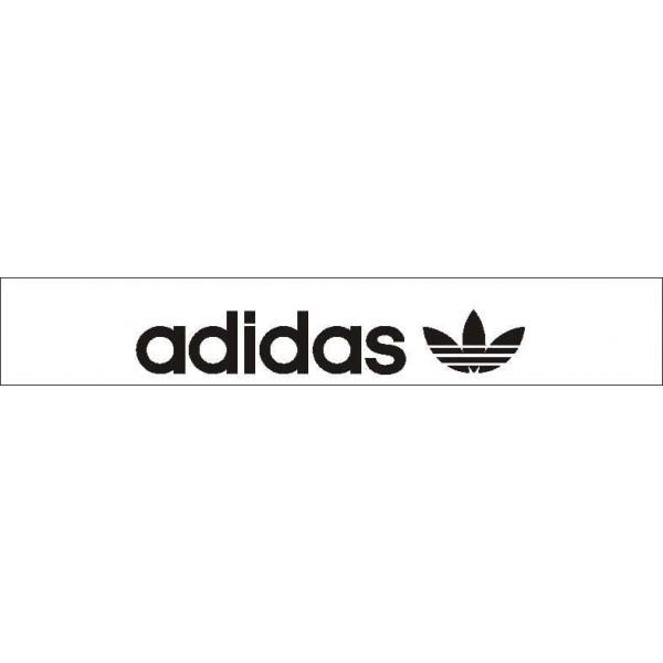 Adidas Original белый фон (16.5х130)