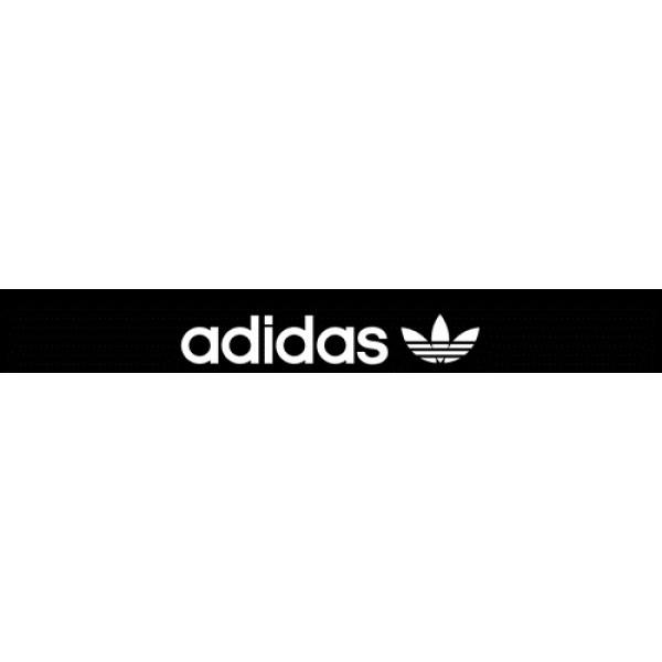 Adidas Original  черный фон (16.5х130)