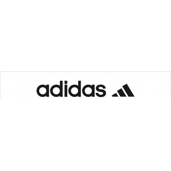 Adidas Sport белый фон (16.5х130)