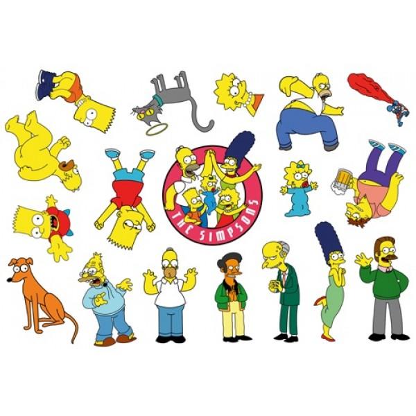 The Simpsons разм 35х50