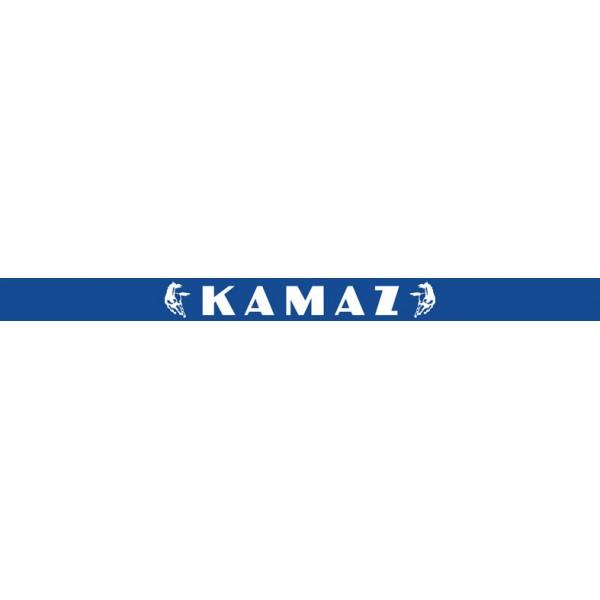 Камаз , синий фон (16x220)